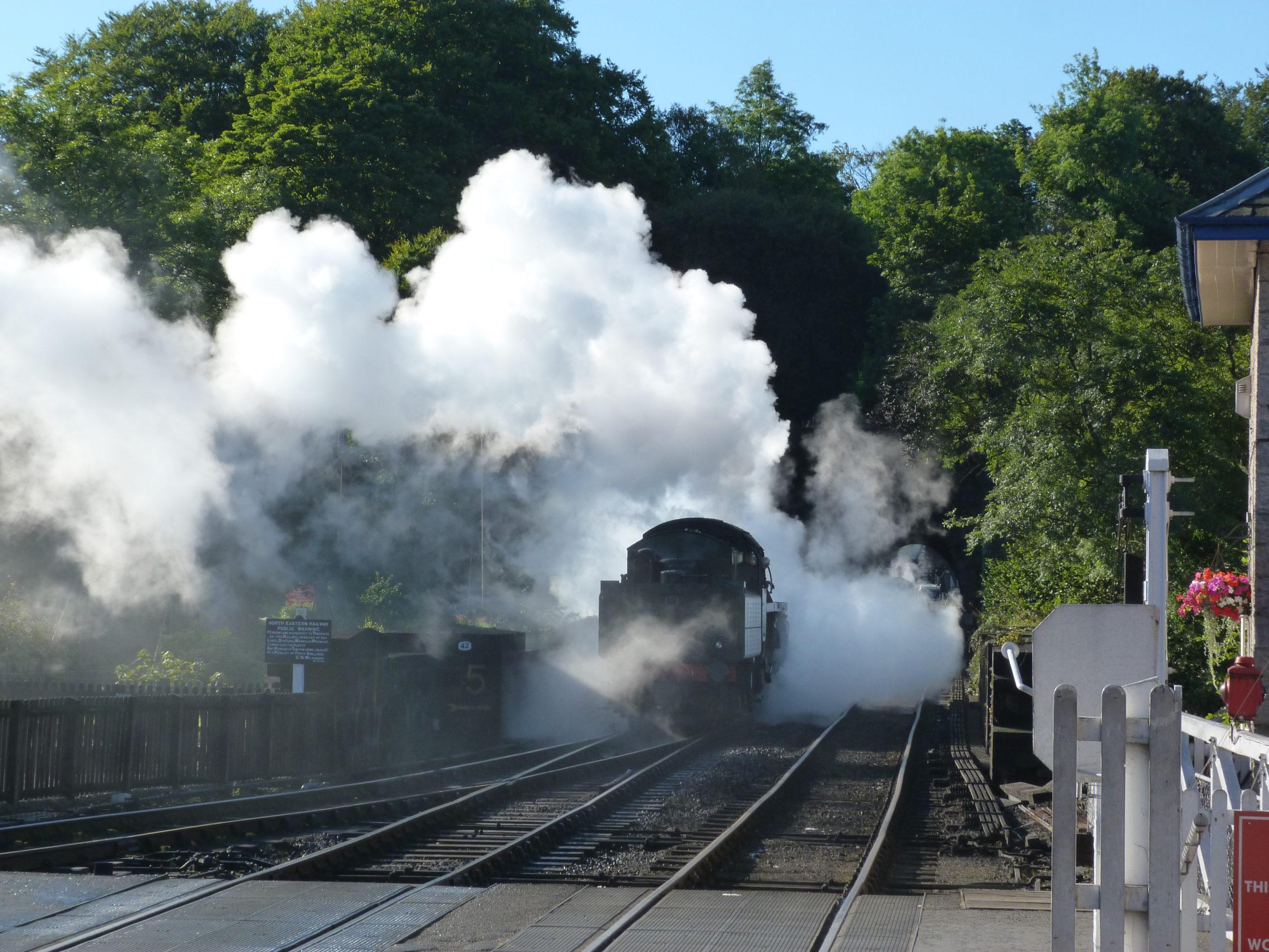 Steam Train at Grosmont