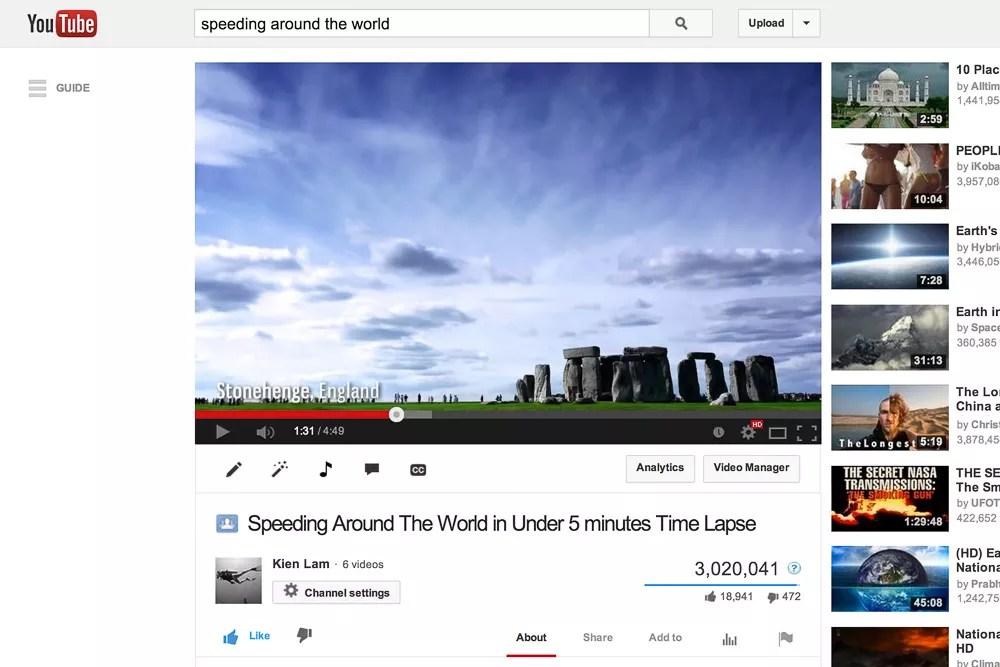 Million Views On YouTube