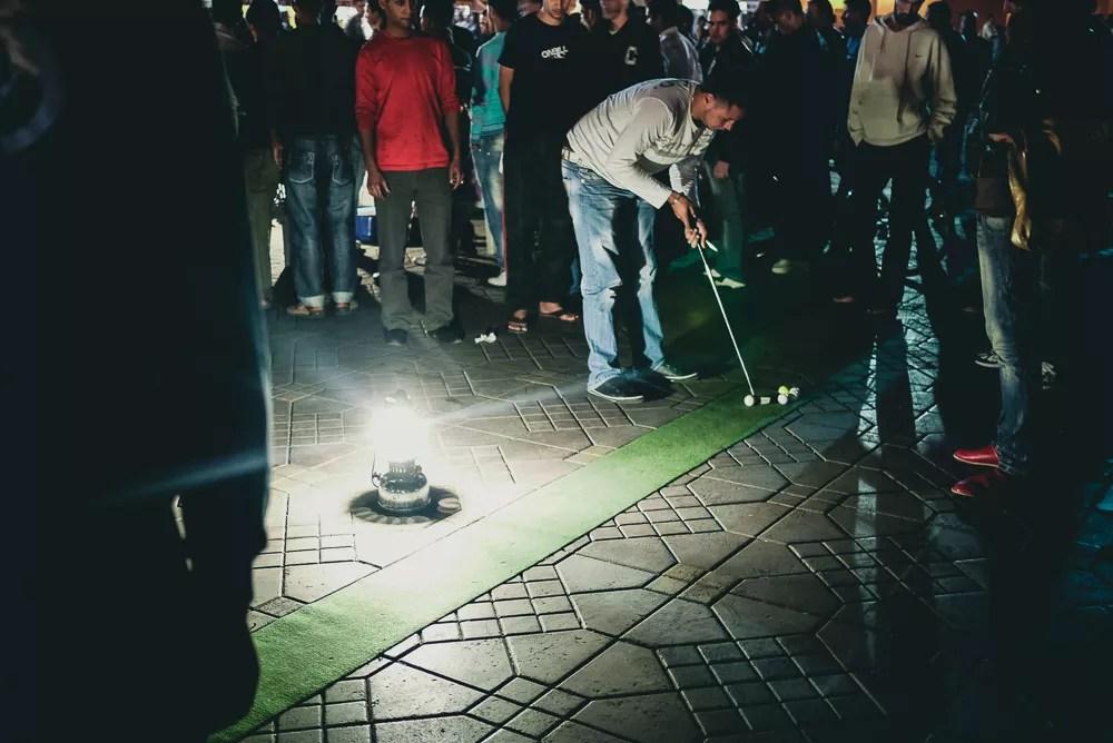 Golf Putting Game Jamaa El Fna