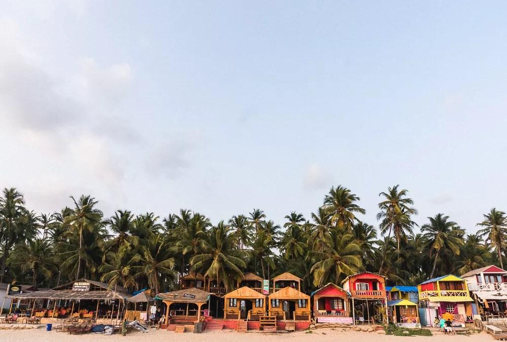 Palolem Restaurants and Beach Bungalows