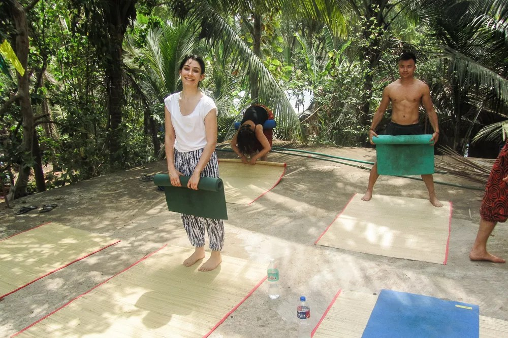 Rooftop Yoga in Palolem South Goa