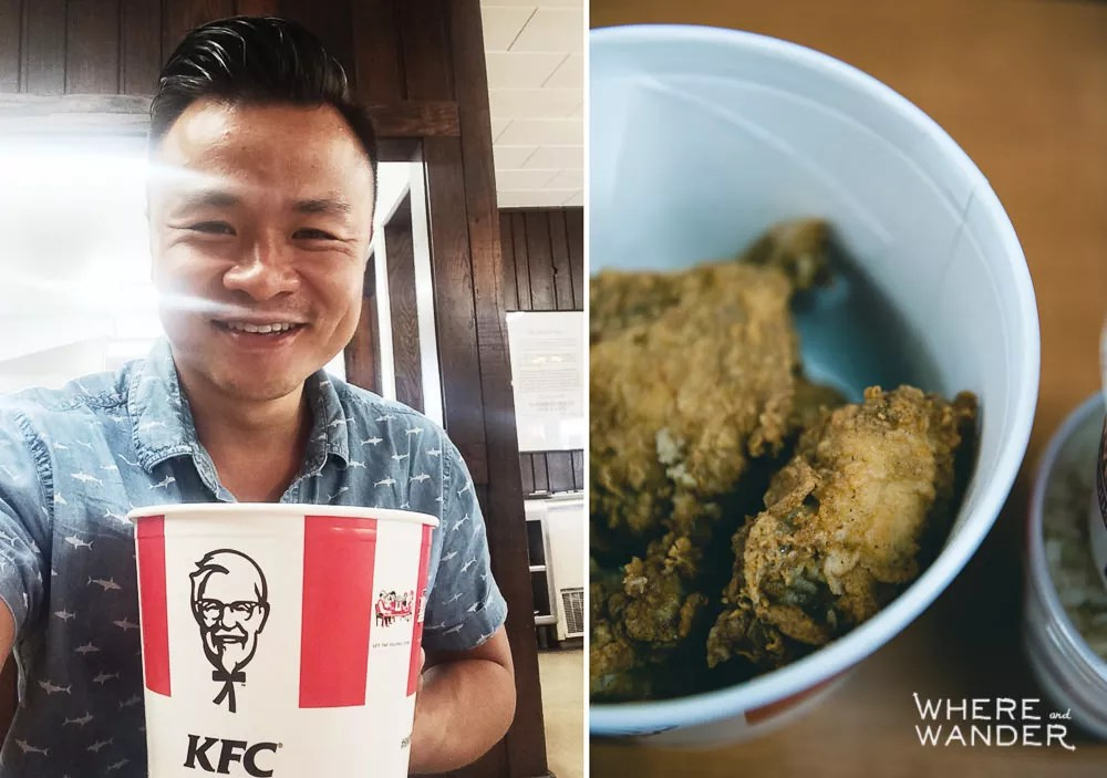 Eating-At-KFC-Birthplace-Corbin-Kentucky-1