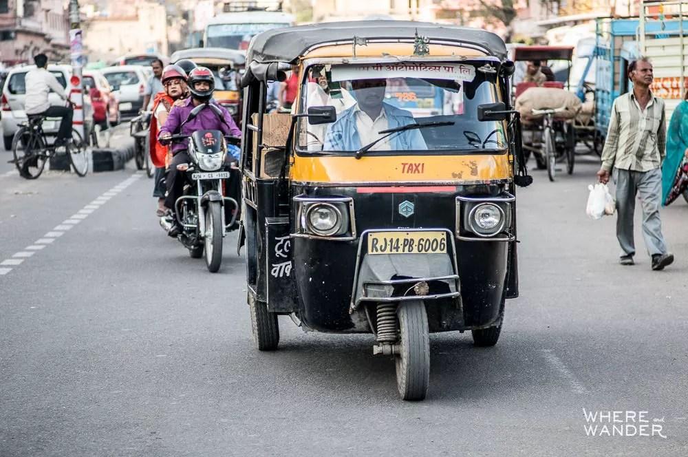 Auto-Rickshaw-India-Crazy-Traffic