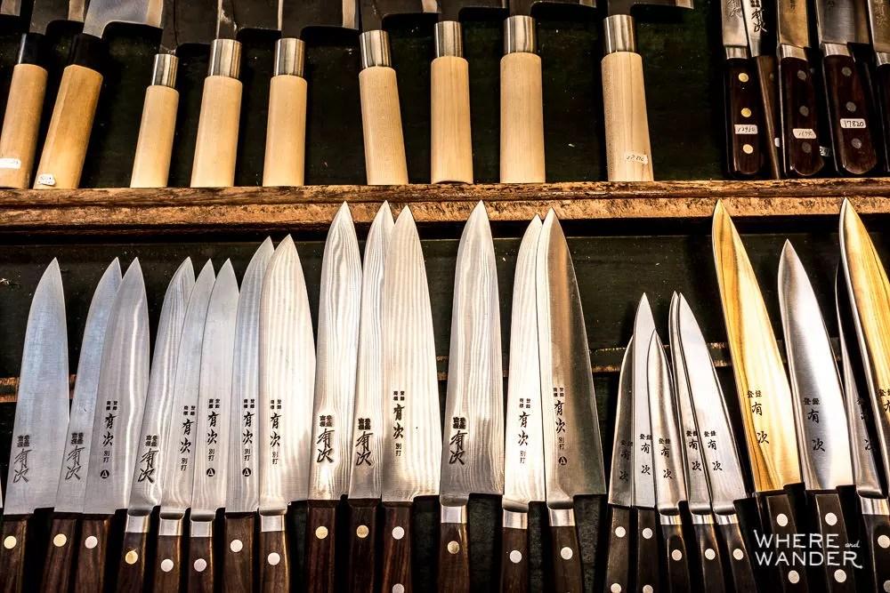 Sharpest Sushi Knives At Tsukiji Fish Market