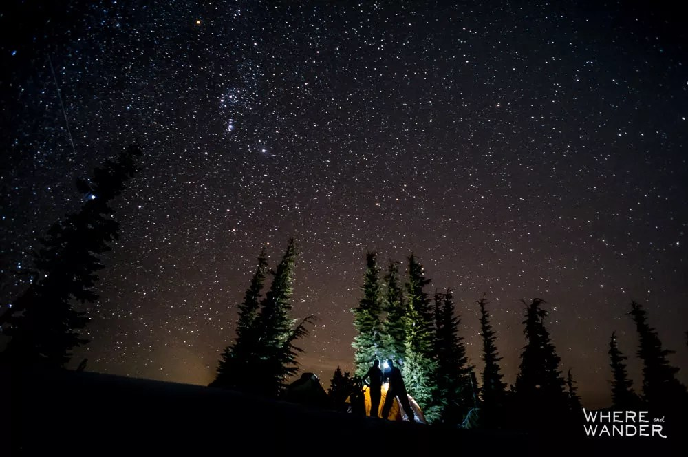 Camping In Lassen National Park In January
