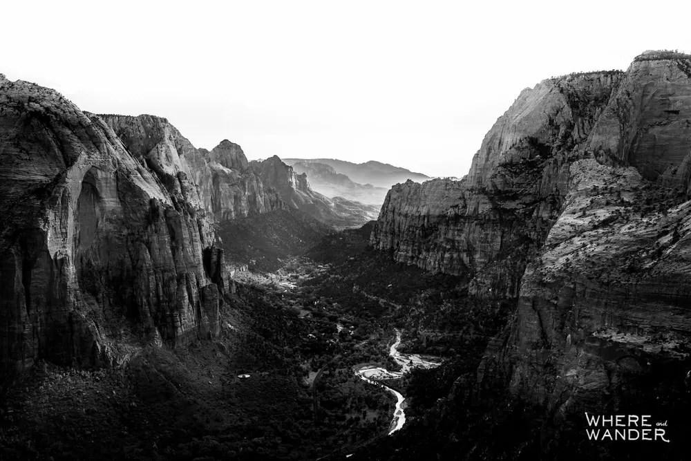 Zion-National-Park-Angels-Landing-Sunset