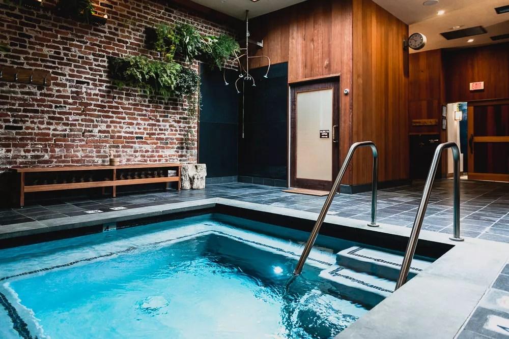 Japanese Bath House Hot Pool At Onsen SF