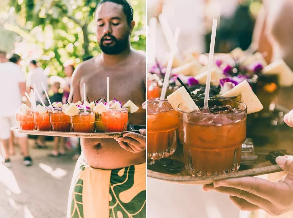 Old Lahaina Luau Welcome Drinks