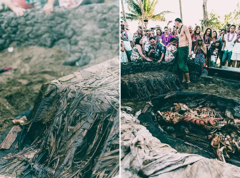Old Lahiana Luau Banana Leaves Roasted Pig-1