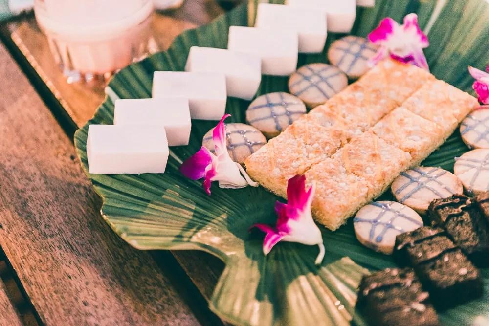 Old Lahiana Luau Buffet Style Hawaiian Desserts