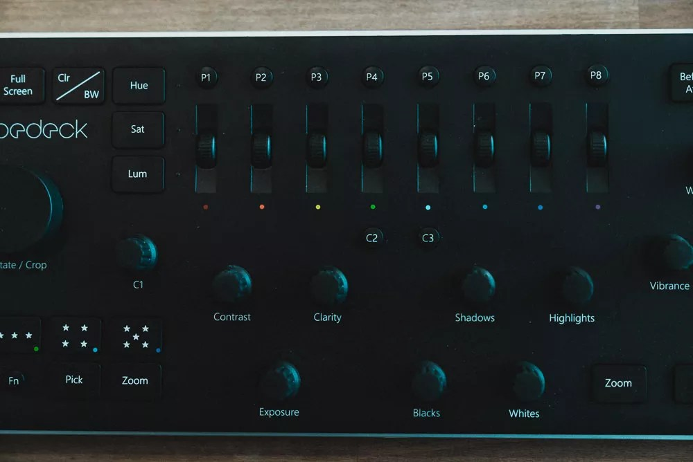 Loupedeck Review HSL Sliders