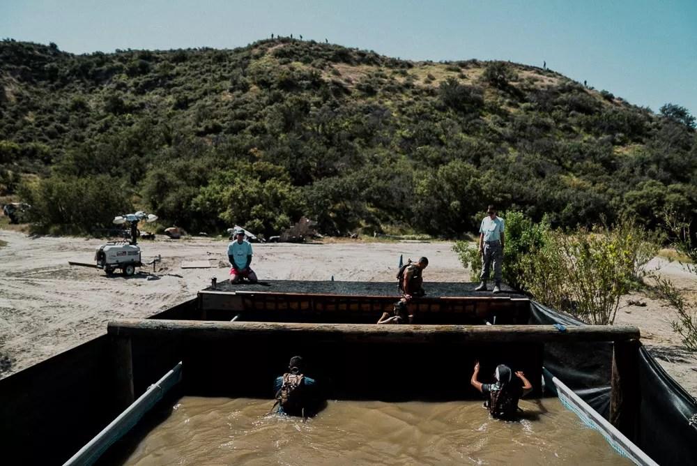 Swamp Pit at Bear Grylls Survival Challenge