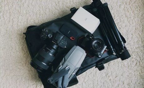 What I Carry In My Camera Bag
