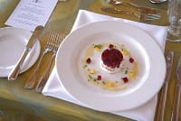 Rundle's Red Beetroot with Goat Cheese Recipe