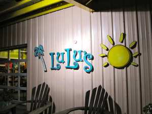 Seafood Dives- Lulu's Gulf Shores