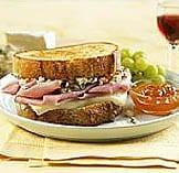 Grilled Jones Ham, Wisconsin Brie & Blue Cheese Sandwich
