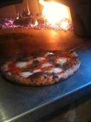 Chef Kevin Walsh of Earth and Wood Oven Fired Margarita Pizza