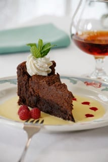 The Chesterfield Inn Chocolate Tissimo Cake