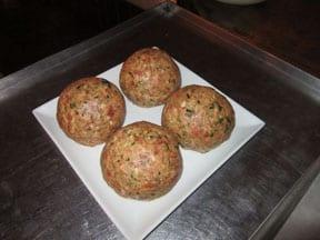 LAVO Boasts Biggest and Tastiest Meatball in Las Vegas