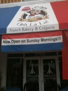 Ooh La La, Sarasota's Small French Bakery And Creperie Re-visited