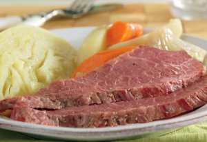 Slow Cooked Corned Beef & Cabbage from Cambell's Kitchen