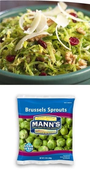 Brussels Sprouts Slaw from Mann Packing Company