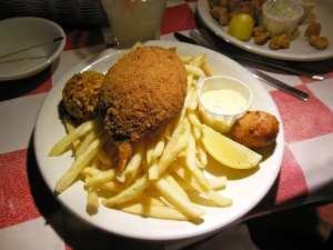 Stuffed Crab Photo: Maralyn D. Hill
