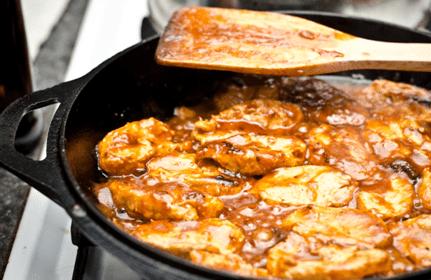 Sticky Crispy Kentucky Bourbon Barrel Chicken Wings Recipe