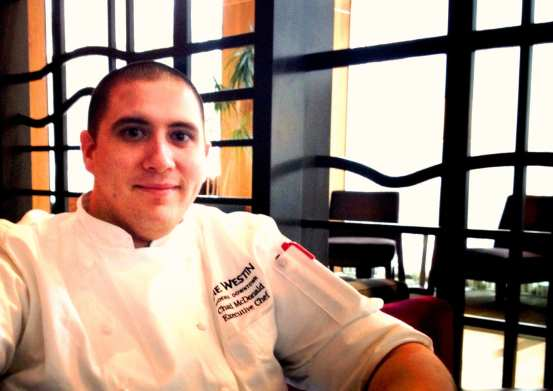 Executive Chef Chad McDonald Courtesy of The Westin Phoenix Dowtown
