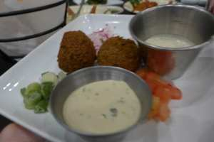 Lebanese Fried Ball Photo: Maralyn D. Hill