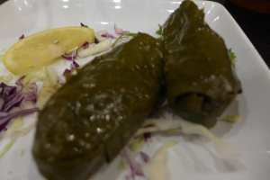 Stuffed Grape Leaves Photo: Maralyn D. Hill