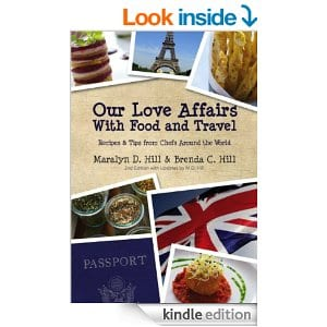 Love Affairs with Food & Travel Book Cover