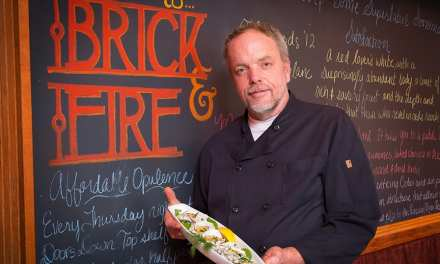 Jim Hughes of Brick & Fire Bistro & Mushroom Cobbler Recipe