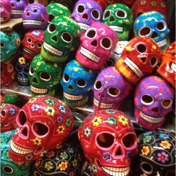 Manuel Villanueva Colorful calaveras for the Day of the Dead celebrations in Mexico