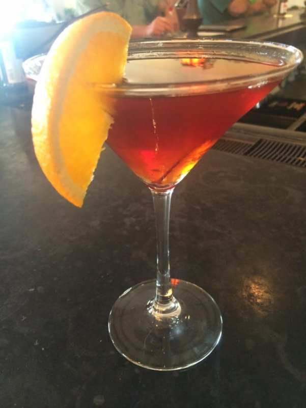 A perfect Manhattan at the Gopher Hole