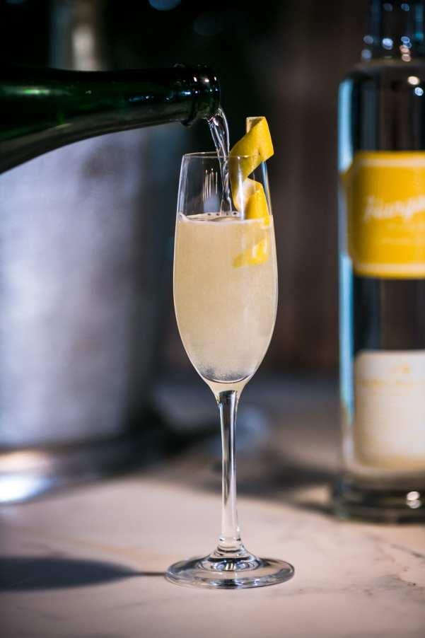 Royal Buddha Champagne Cocktail