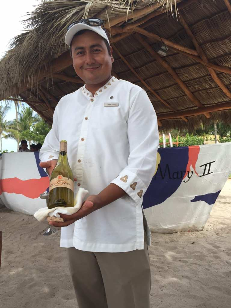 Wine at St. Regis Punta Mita, Photo-Brenda C Hill