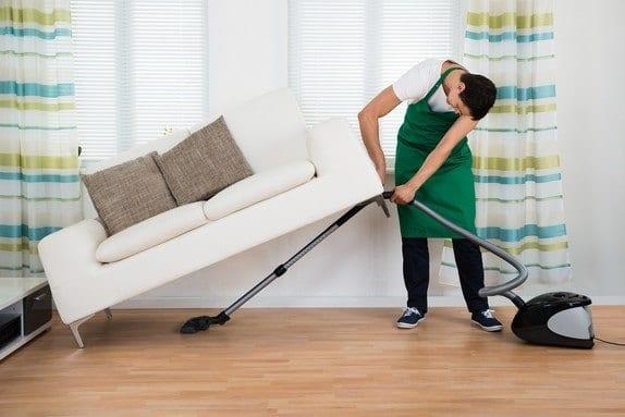 Vacuum hard floor