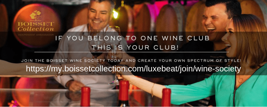 Bossiet Collection Wine Society Luxe Beat