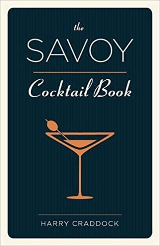The Savoy Cocktail Book-2015 edition