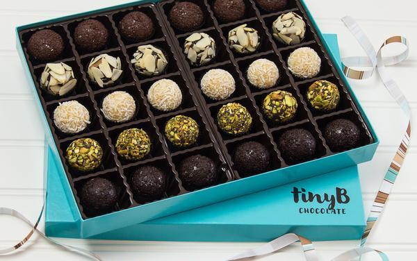 Tiny B Chocolate Brazilian Brigadeiros