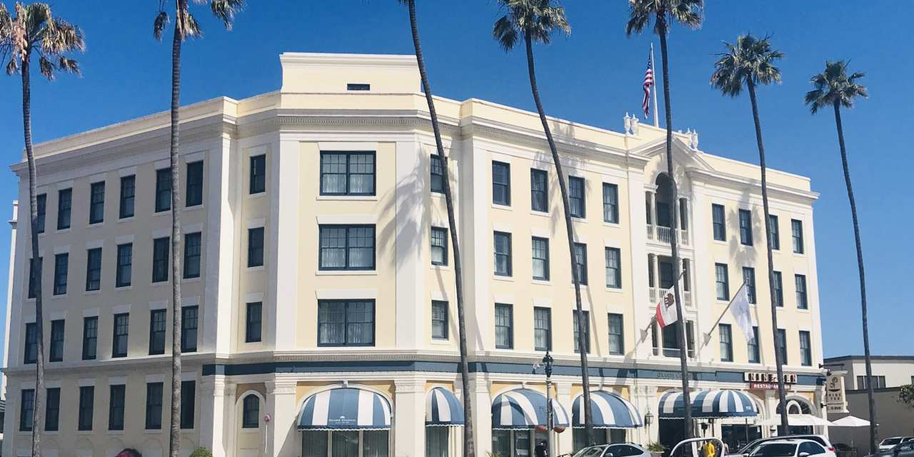 The New Grande Colonial Hotel in La Jolla
