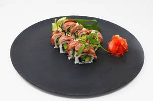 Serena Williams Kobe Beef Sushi