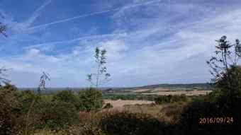 Lodge Hill looking NE towards Princes Risborough