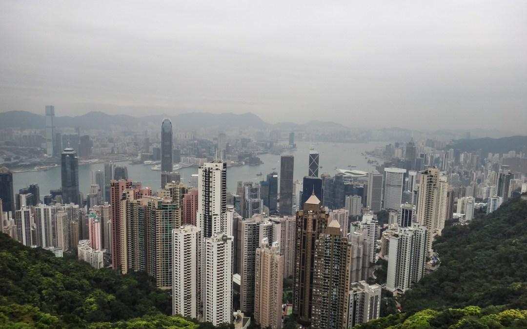 Arrival day in Hong Kong: Surviving long enough to sleep