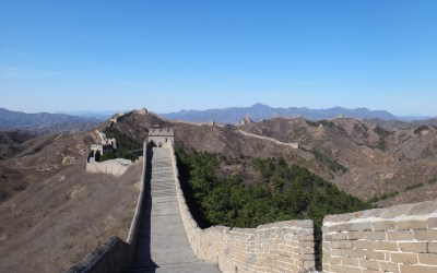 The early bird gets the worm – Or in this case, the Great Wall of China