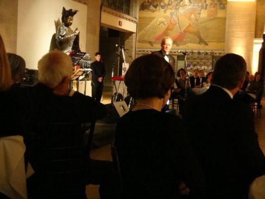 Mr. Jean Chreitien speaking at Ron's birthday.