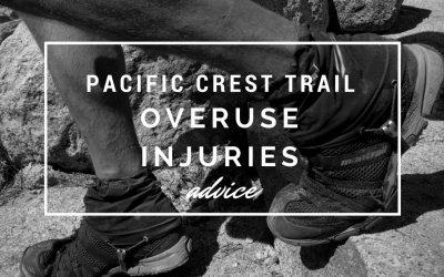 Lower limb overuse injury on long distance walks