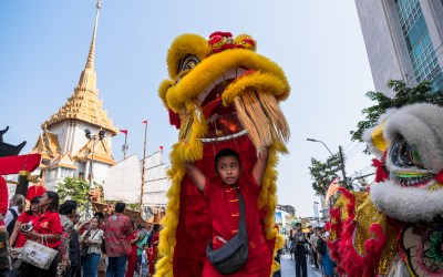 Ringing in the Year of the Dog, Bangkok-style