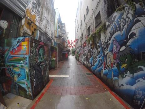 Graffiti in Ximending